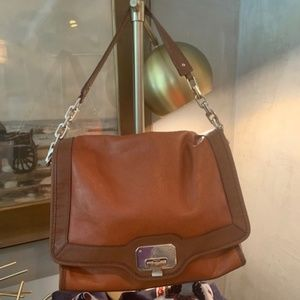 Cole Haan Brown Leather Shoulder Bag